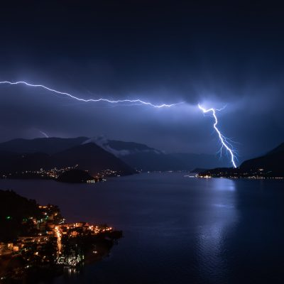 Lake Como Lightning
